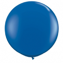 3ft Giant Balloons - Sapphire Blue Latex Balloon 1pc